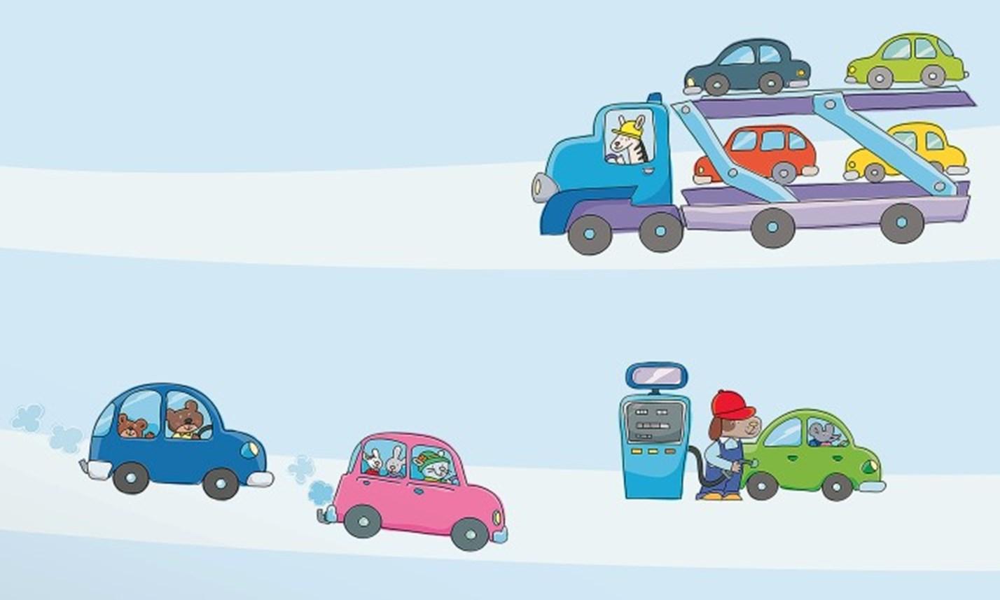 Stickers murali bambini cameretta macchine e motori for Decorazioni camerette bambini